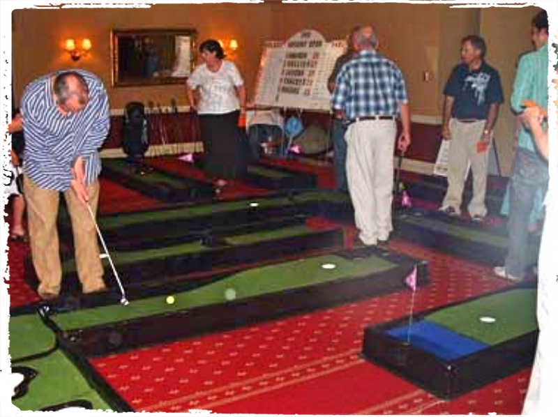 Corporate Mini Golf Event, Theming Perth, Office Party Golf, Bespoke Putt Putt Hire, Ultimate golf rental Perth, office party, golf rental