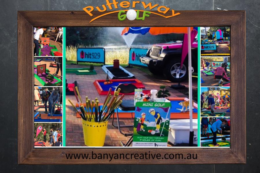 Portable Mini Golf Hire, Mobile Golf, Portable Putt Putt, Event Entertainment perth, Perth Amusements, Ultimate Mobile Mini Golf
