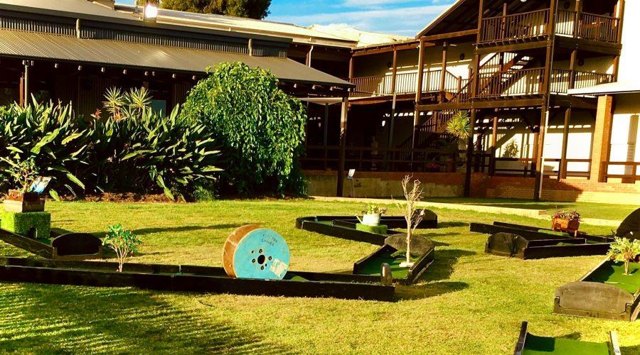 Corporate Mini Golf Event, Theming Perth, Office Party Golf, Bespoke Putt Putt Hire, Ultimate golf rental Perth