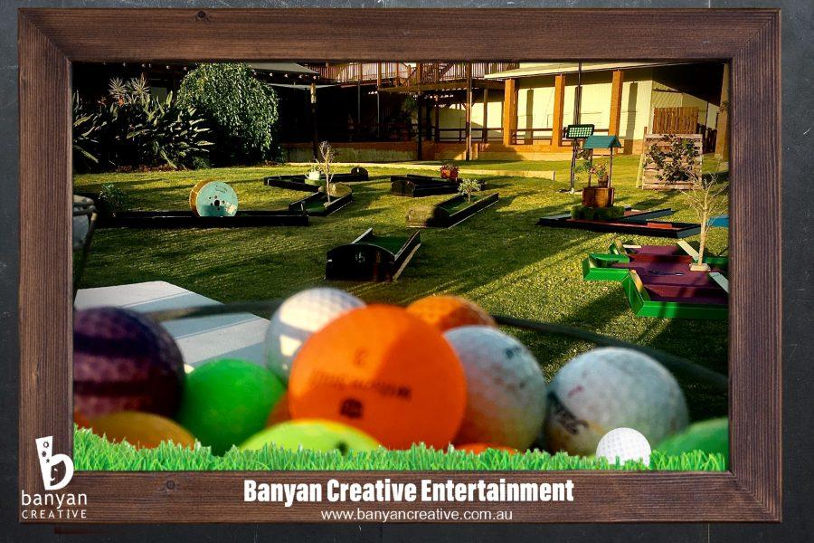 Portable Mini Golf Hire, Corporate Portable Golf, Mini Golf Event Hire, Mobile Putt Putt, Event Amusements
