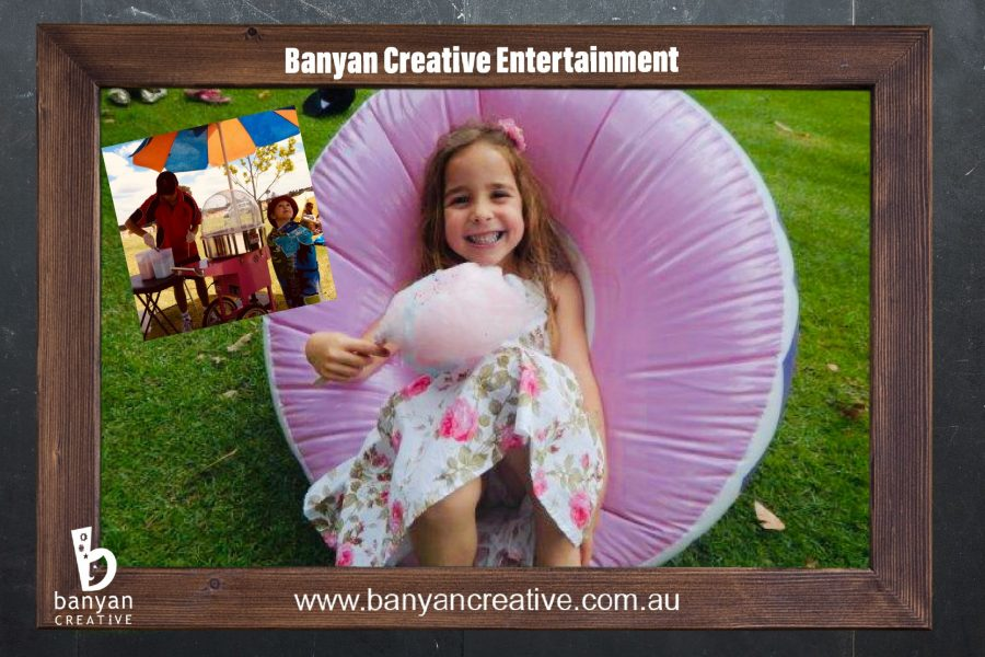 Fairy Floss Machine Hire, Party Hire, Make your own fairyfloss, Popcorn Machine Hire, Movie Night